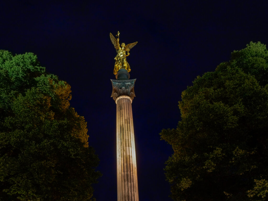 Friedensengel nightsky