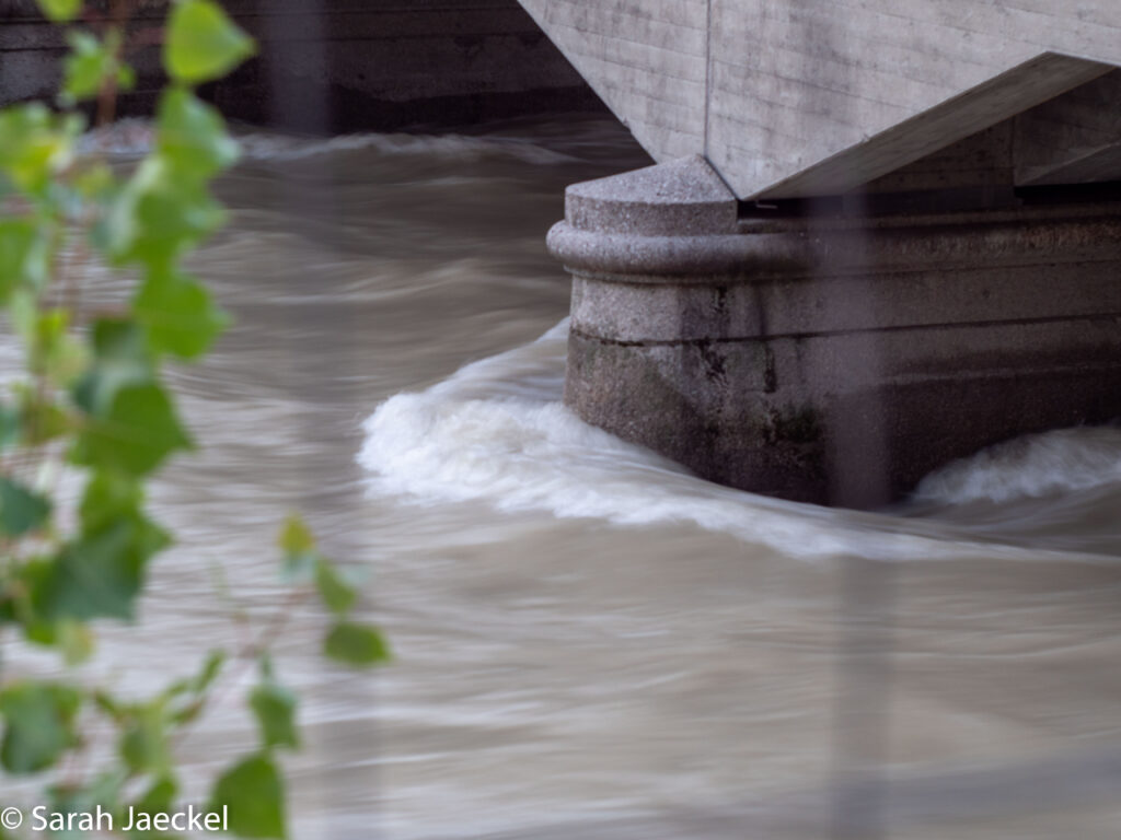 Munich flood bridge